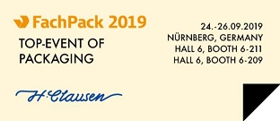 FachPack Messe 2019 H. Clausen AS